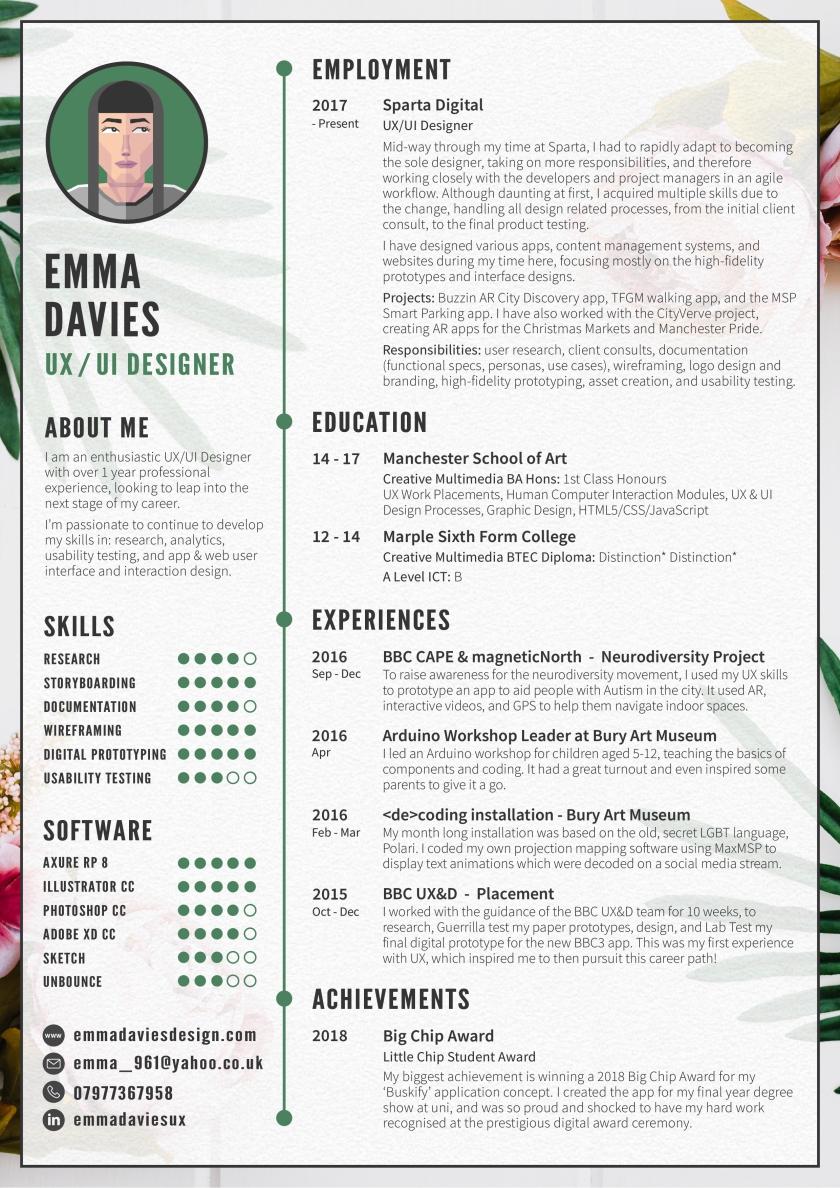 Emma Davies CV